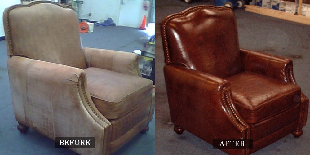 Armchair Completely Restored