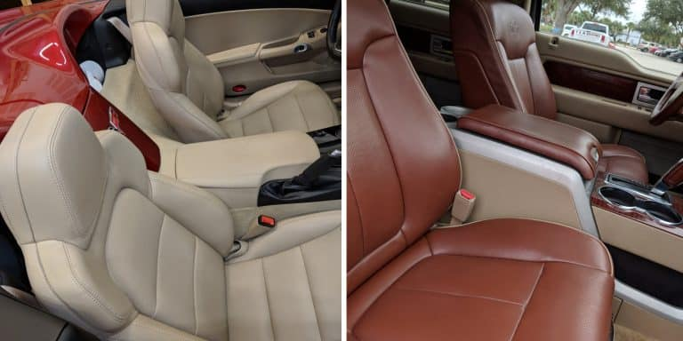 Leather Car Seat Repair And Cleaning Guide